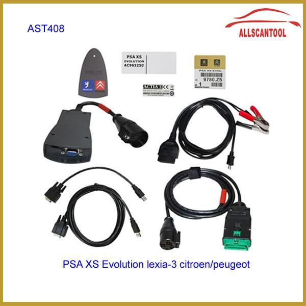 Quality Multi Language Car Diagnostic Tool Lexia-3 lexia3 V48 Citroen / Peugeot Diagnostic PP2000 V25 for sale
