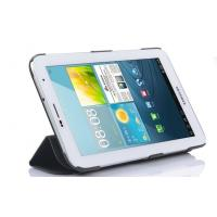 China Black Flip PU Tablet PC Leather Case with Stand on sale