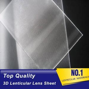 Cheap lenticular lens 70 lpi-3d pet lenticular sheet lenses United States-standard size lenticular sheets lenses for inkjet wholesale
