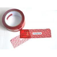 Digital Russia Red Security Tape Provides Maximum Security With Perforation