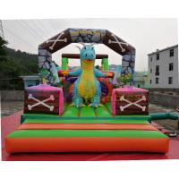 Buy cheap Jurassic Park Inflatable Obstacle Course Combo Bouncing Castle For Advertisement from wholesalers