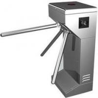 Intelligent Vertical Turnstile Gate #304 Stainless Steel with bar code Reading