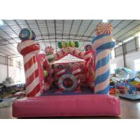 Cheap Kindergarten Baby Small Inflatable Bounce House , Inflatable Jumping Castle 3.5 X 4.5 X 4m wholesale