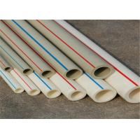 Cheap FIBER COMPOSITE Fusion Ppr Pipes White Color PN25 Work Pressure Furring Resistance wholesale