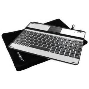 Cheap Custom 245mm*190mm* 8.5mm Aluminum Ipad 3 bluetooth keyboard  case wholesale