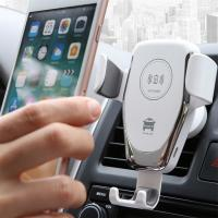 Cheap Cell Phone Holder Wireless Car Charger Automatic Clamping Fast Charging 10 Watt wholesale