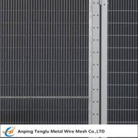Buy cheap Security Fence Panels|Carbon Steel Wire Fencing Security Barrier with Mesh Size from wholesalers
