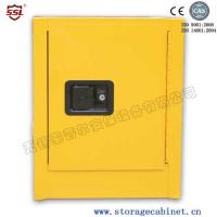 Yellow Powder Coated Flammable Chemical Storage Cabinets For Laboratory , Bench Top