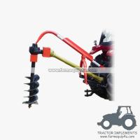 Cheap 3point hitch tractor post hole digger with different sizes Augers available wholesale