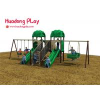 Cheap Kid Plastic Amusement Park Outdoor Playground Slides About 7 Volume Cubic Meter wholesale