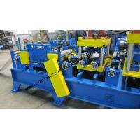 Cheap 20 KW Steel Frame C Purlin Roll Forming Machine For C / Z / U Shape Purlins wholesale