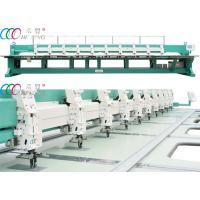 Cheap 10 Heads Mixed Coiling / Taping And Flat Embroidery Machine wholesale