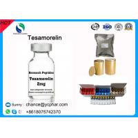 Cheap Top Purity Tesamorelin Peptide /TH9507 Reduce Excess Deep Belly Fat Egrifta And Muscle Growth CAS 106612-94-6 wholesale