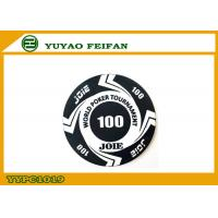 Cheap Large Funny Rounders World Tournament Poker Chips With Values 100 wholesale