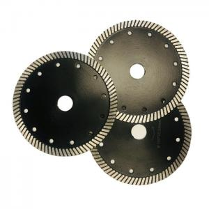 Cheap 150mm Turbo Segmented Sintered Diamond Stone Cutting Blades wholesale