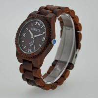Cheap Eco Friendly Bewell Wooden Wrist Watch Waterproof With Customised Logo wholesale