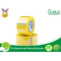 Cheap Security Adhesive BOPP Packaging Tape , Waterproof Sticky Tape Long Lasting wholesale