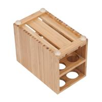 Cheap high quality bamboo toothbrush holder using for bathroom with cheap price wholesale