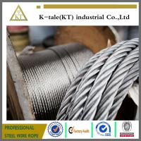 Cheap Stainless Steel cable is available in 7x7 or 7x19 Aircraft small cord cable plus wholesale