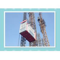 Safety Platform Construction Hoist Elevator , SC270GZ Building Elevator