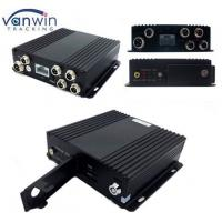 Cheap 4 Channel Vehicle WI-FI Video / Audio SD Card DVR Camera System with Bus Router wholesale