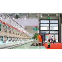 Cheap High Speed 1200 RPM Intelligent Computerized Flat Embroidery Machine ,  20 Heads 9 Needles wholesale