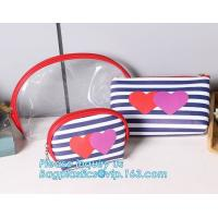Cheap Eco Shopping Bags Toiletry Kits Pvc Zipper Pouch Makeup Cosmetic Travel Organizer wholesale
