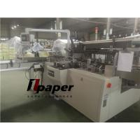 Cheap Flat Tissue Paper Box Packing Machine Speed 30-80 Box/Min Glue System wholesale