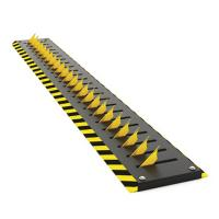 Buy cheap Residence Remote Control Parking Bollards , Tyre Killer Barriers Black from wholesalers