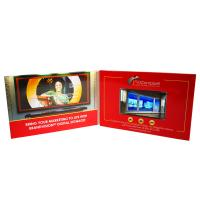 Cheap Event Invitations LCD Paper Plus Print Video Book With Rechargeable Battery wholesale