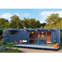 Buy cheap Single Story Storage Ready Made Shipping Container Homes To Live In Foldable from wholesalers