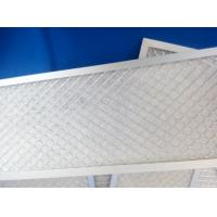 China Panel  Pleated  Air Filter Frames Hvac  For  Bad Smell Filtration  Fabric Non Woven on sale