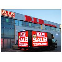 Cheap 1 / 4 Electronic Large LED Advertising Screen , Outdoor Led Billboards Rental P6 SMD wholesale