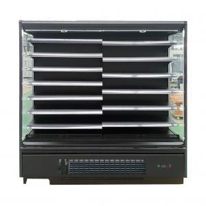 Commercial Upright Supermarket Open Display Fridge with Adjustable Shelving