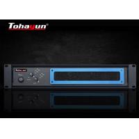Cheap Two Channel Audio Power Amplifier For Conference Room / Multipurpose Lecture Hall wholesale
