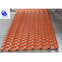 Heat Insulation Tinted Corrugated Plastic Roofing Pvc Anti - Fire Surface Material Roof Cover