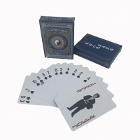Cheap Varnishing 87mm Length UV Coated Paper Game Cards wholesale