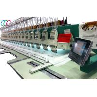 Cheap 20 Heads 9 Needles High Speed Computerized Flat Embroidery Machine For Clothing wholesale