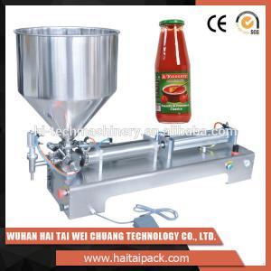 Cheap Vegetable Oil Bottle Semi-Automatic Filling Machine Electric Driven Type wholesale