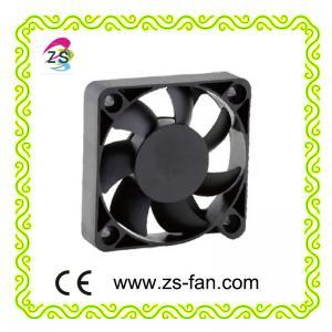 Cheap plastic blade radiator fan 5012 DC fan, small box fan 50*50*12mm cooling fan wholesale
