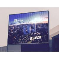 Cheap 1R1G1B Outdoor Advertising Led Screens P10 SMD Hign Brightness Waterproof Iron Cabinet wholesale