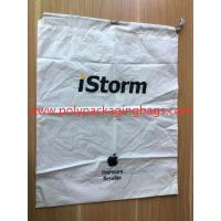 Cheap Simple and elegant white cpe rope bag for general purpose packaging wholesale