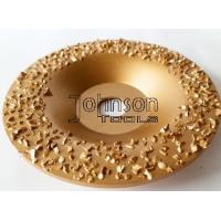 Cheap Gold Buffing Tungsten Carbide Grinding Disc For Roughing Rubber And Fabric wholesale