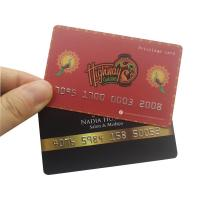 Quality Full Color PVC Plastic Gift Cards Magnetic Strip Crafts Design Light Weight for sale