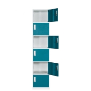 Cheap Gym Clother Storage Six Door 0.4mm Metal Wardrobe Steel Lockers wholesale