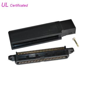 Cheap 90 Degree TYCO 64 Pin Centronic Champ IDC Female Connector For RJ21 Cable wholesale