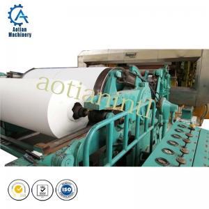 Cheap A4 culture paper making machine( direct rice straw pulp cultural paper machine) wholesale