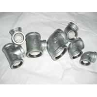Cheap NPT Galvanized Malleable iron pipe fittings wholesale