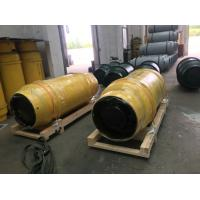 Cheap 1 TON  REFRIGERANT GAS,AMMONIA GAS,CHLORINE GAS CYLINDER WITH VALVES FOR STORAGE TANK AND TRANSPORATION wholesale