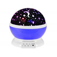 Cheap Sky Romantic Baby Star Nightlight Projector with 360 Degree Rotation 4 LED Bulbs 9 Light Color Changing for Kids wholesale